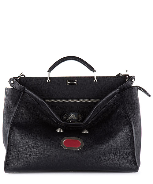Men's bag handbag tracolla in pelle  peekaboo cuoio roma bla bla bla secondary image