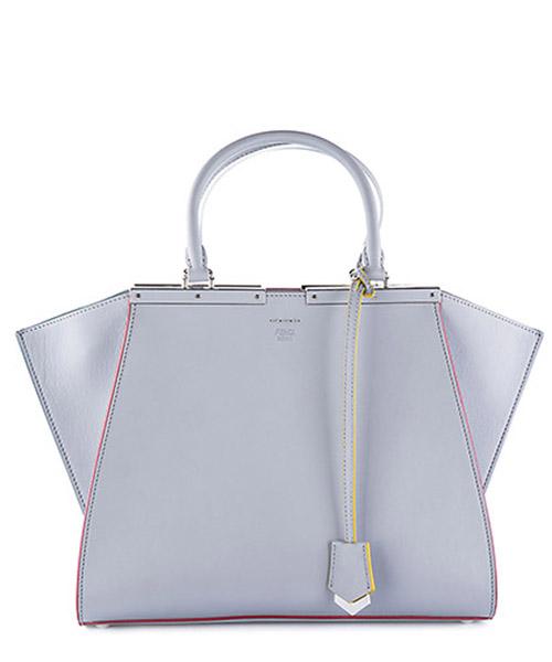 Handbag Fendi 8BH279 81D F04QK ardesia + palladio