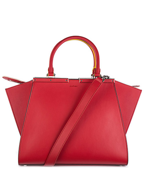 Women's leather handbag shopping bag purse 3jours secondary image
