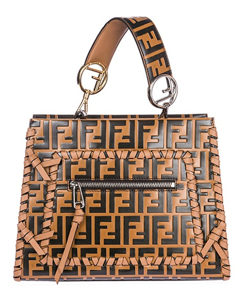 Handbag Fendi 8BH344A30XF12FU marrone