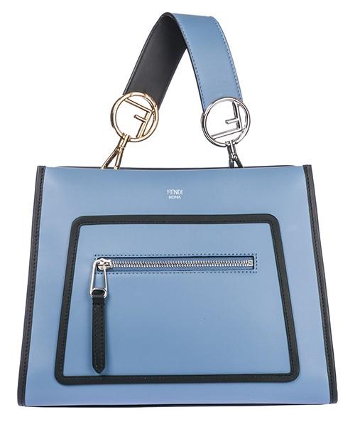 Handtasche Fendi 8BH344SIZF051T blu