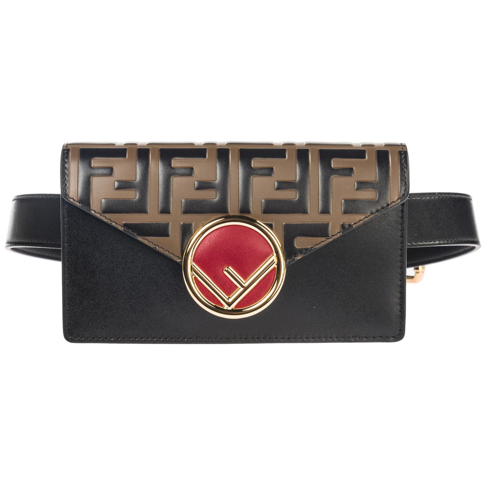 Fendi Women s leather belt bum bag hip pouch eac82e85dd