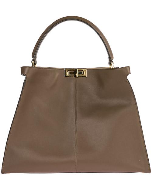 Women's leather handbag shopping bag purse peekaboo x-lite