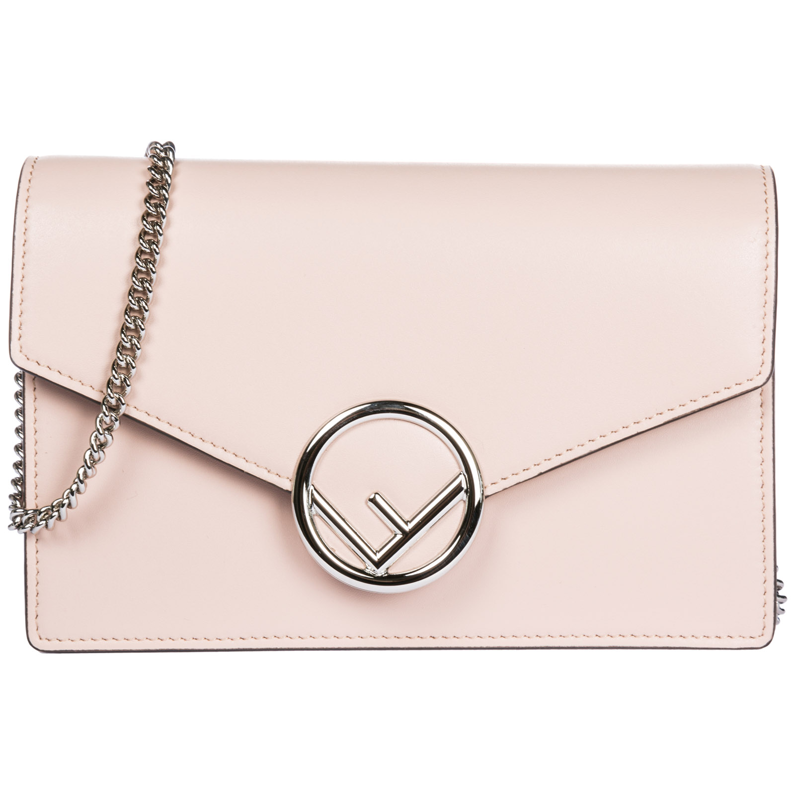 Women s leather shoulder bag wallet on chain ... 8439715a11