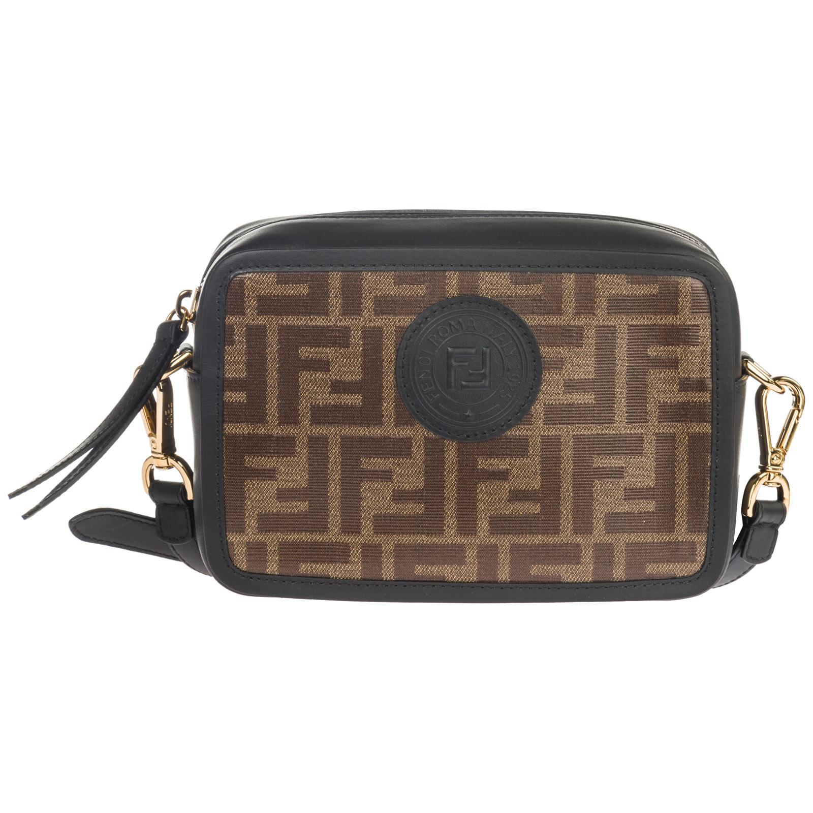 Fendi Women s leather cross-body messenger shoulder bag 6e59e297e4