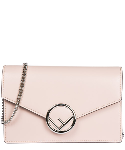Mini bolsa Fendi Wabler 8BS006A0KKF07MJ rosa