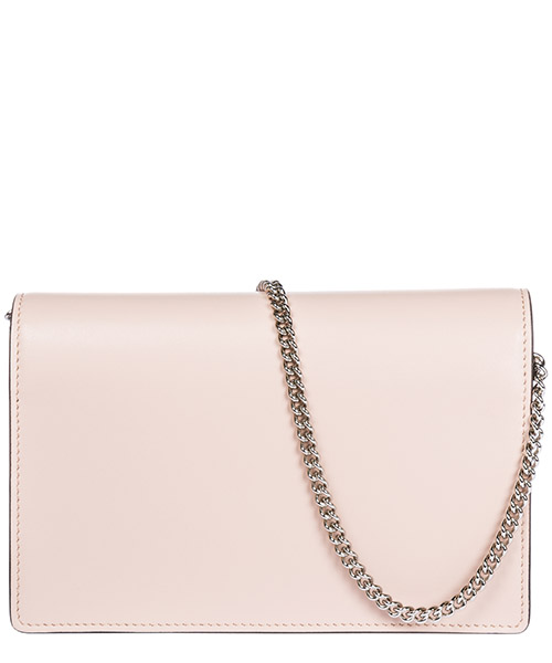 Women's leather shoulder bag wallet on chain secondary image