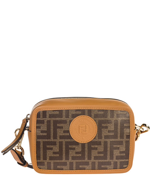 Crossbody bag Fendi 8BS019A5K4F15WO marrone