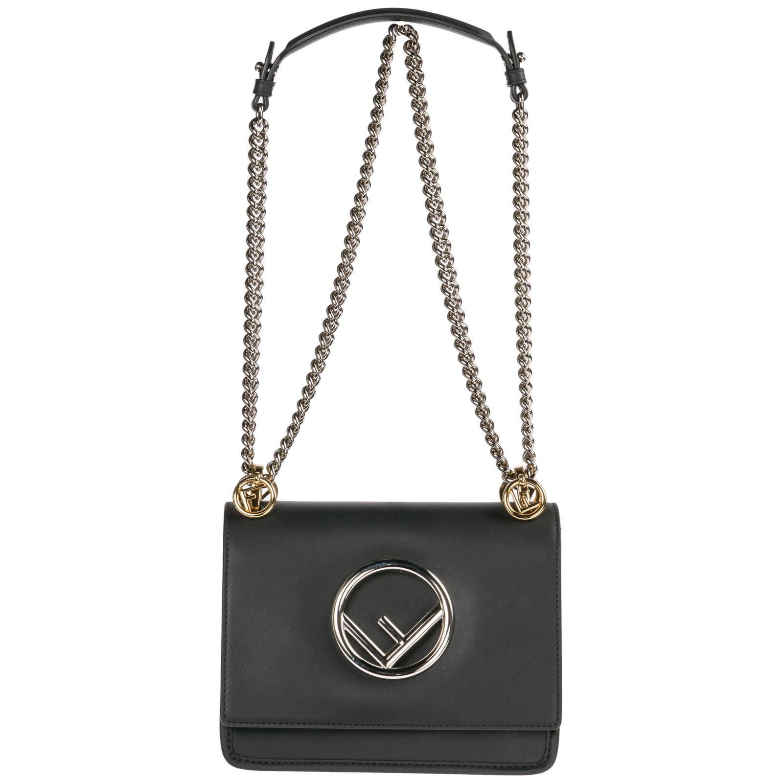 ... Women s leather shoulder bag kan i logo piccola ... 63575181fd