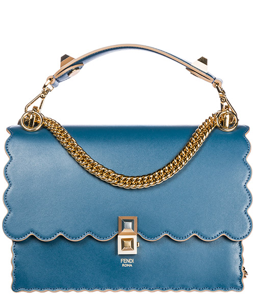 Shoulder bag Fendi Kan I 8BT283A18QF12RH blu