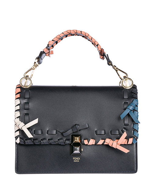 Handbag Fendi 8BT283A31DF10PZ blu notte + multicolor