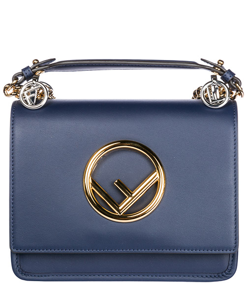 Mini bag Fendi Kan I 8BT286A3QXF02SI blu