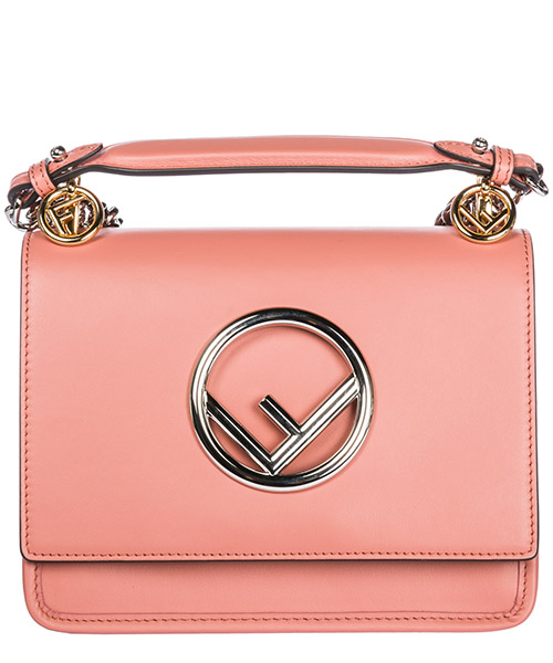 Mini sac Fendi Kan I 8BT286A3QXF13DO rosa