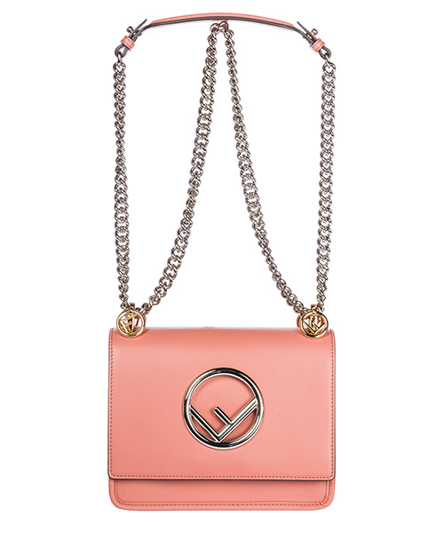 Women's leather shoulder bag kan i piccola logo secondary image