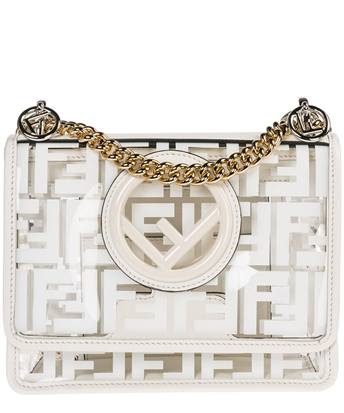 Суппорт Fendi Kan I F Small 8BT286A7T5F0QVL bianco