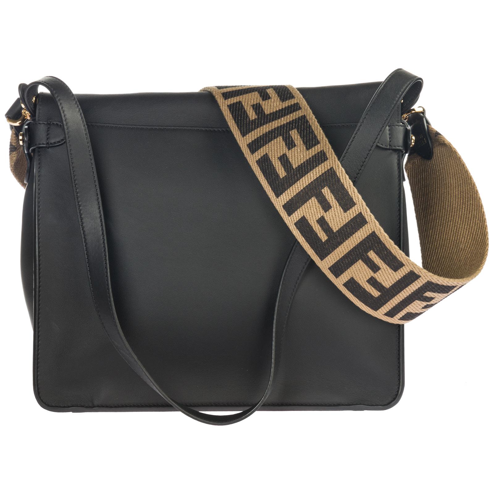 Fendi Women s handbag shopping bag purse tote in pelle flip large ab4b58be61a9a