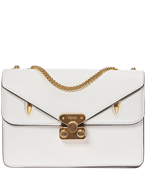 Суппорт Fendi bag bug 8bt311a7suf17yf bianco