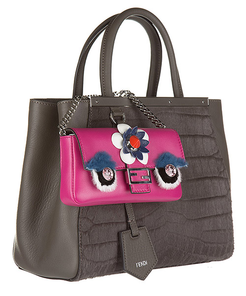 Borsa donna a spalla shopping in pelle micro baguette secondary image