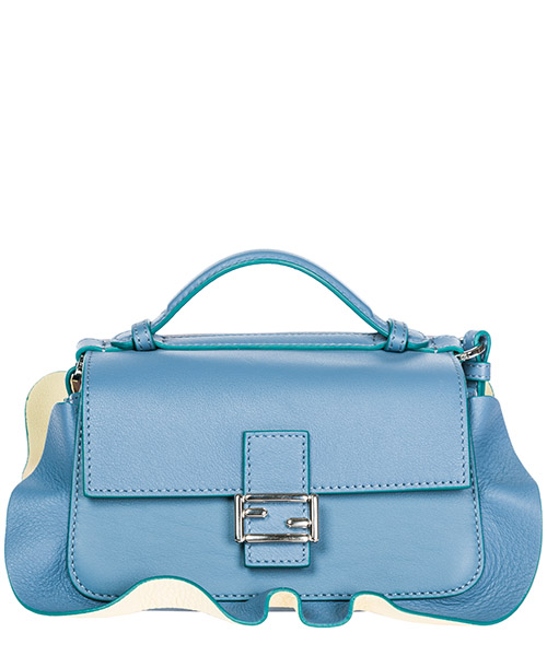 Shoulder bag Fendi Baguette 8M0371S40F04JN blu