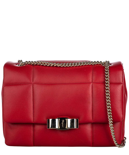 Shoulder bag Ferragamo Pre-Owned 9KFRSH001 rosso