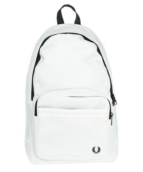 Mochila Fred Perry Twin Tipped L2201 snow white
