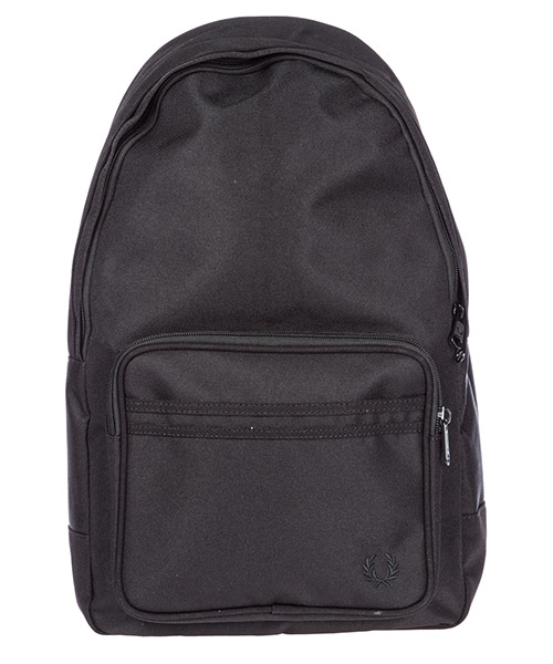 Rucksack Fred Perry Twin Tipped L2201 black - black