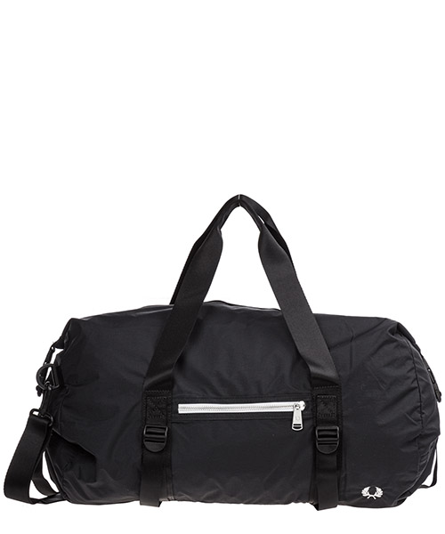 Gym bag Fred Perry Roll Top L6221 nero