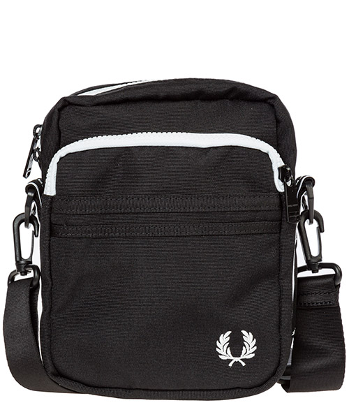 Borsa a tracolla Fred Perry side l7229 nero