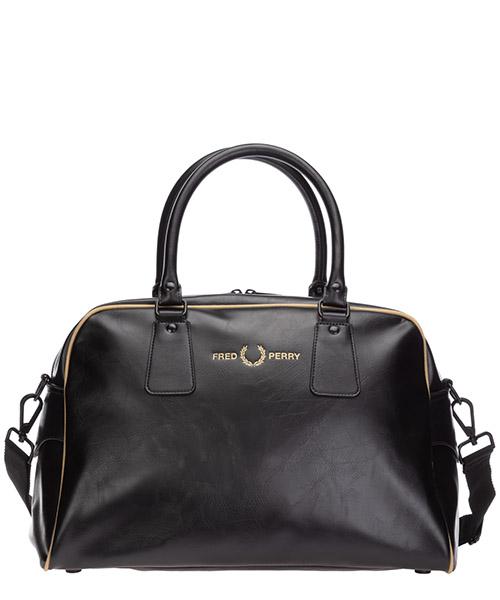 Handbags Fred Perry Side L9247 nero