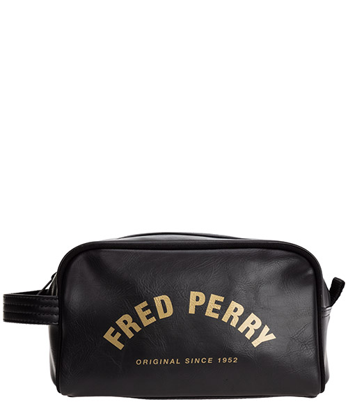 Toiletry bag Fred Perry L9250 nero