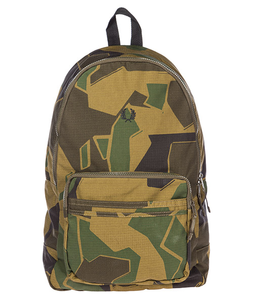 Zaino Fred Perry by Arktis Arktis L4215 woodland camo