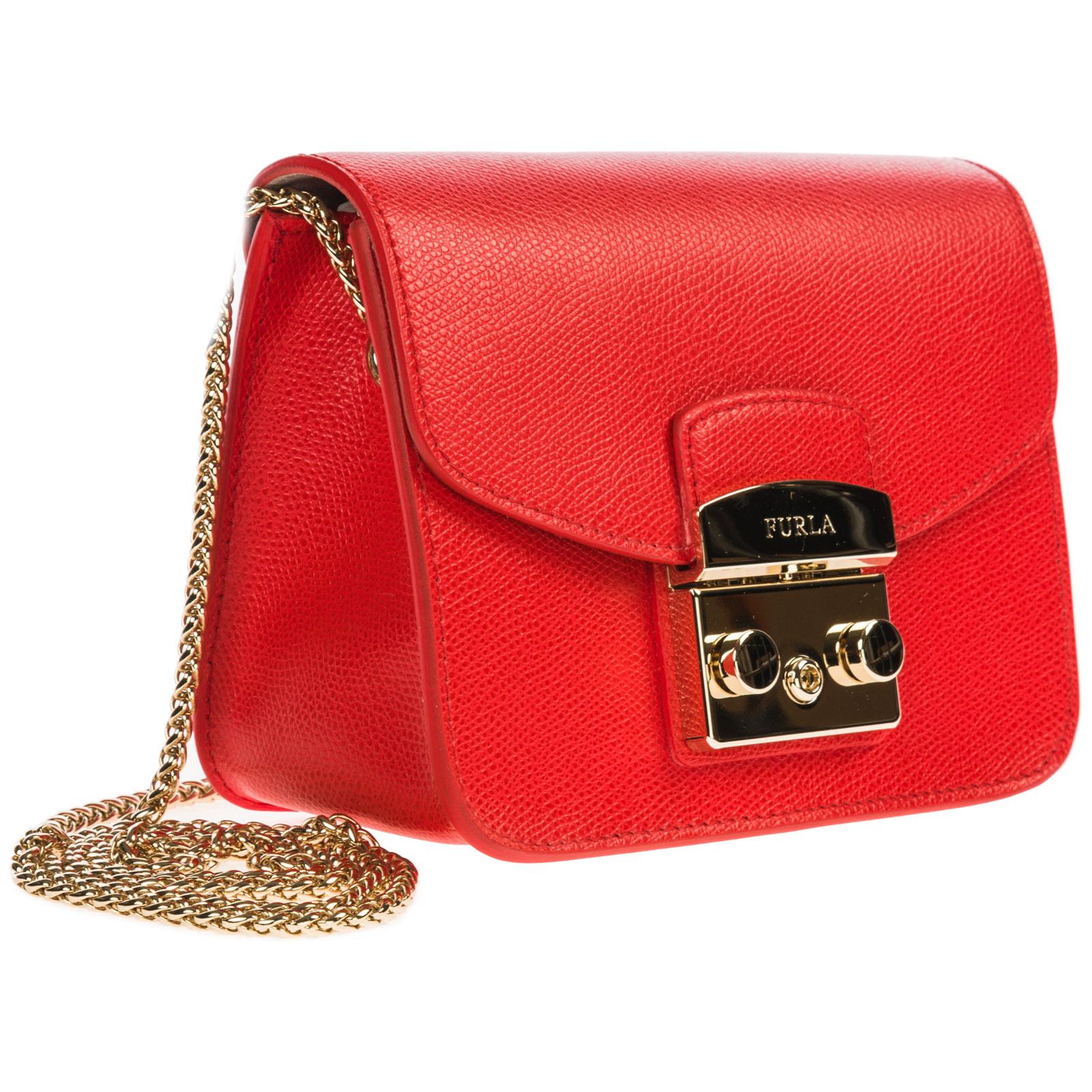 9f54098dfb2ed3 Furla Women's leather cross-body messenger shoulder bag metropolis