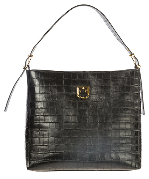 Women's leather shoulder bag belvedere