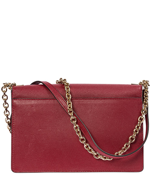 Women's leather cross-body messenger shoulder bag mimì secondary image