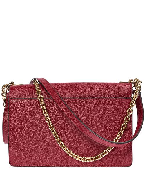 Women's leather cross-body messenger shoulder bag mimì mini secondary image