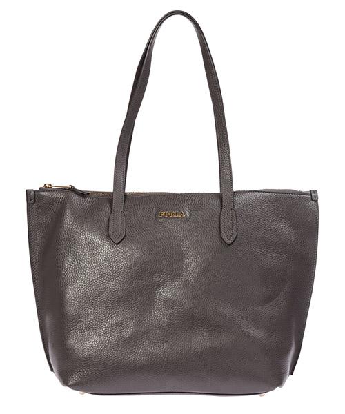 Shoulder bag Furla luce 1033389 asfalto