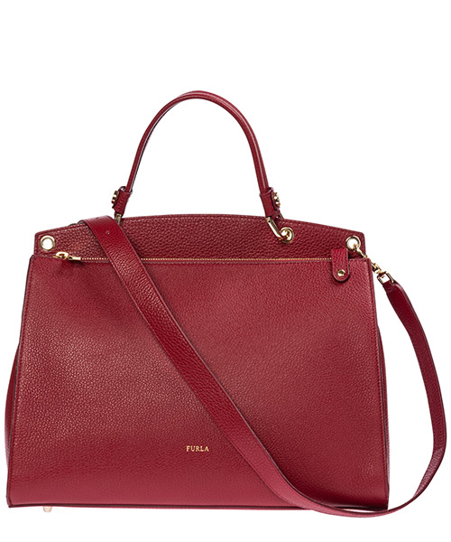 Women's leather handbag shopping bag purse adele secondary image