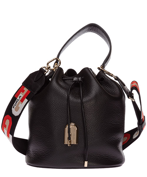 Bucket bag Furla sleek 1057252 BAIA nero