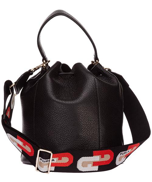 Women's leather handbag shopping bag purse sleek secondary image