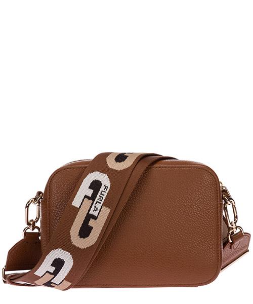 Women's leather cross-body messenger shoulder bag sleek secondary image