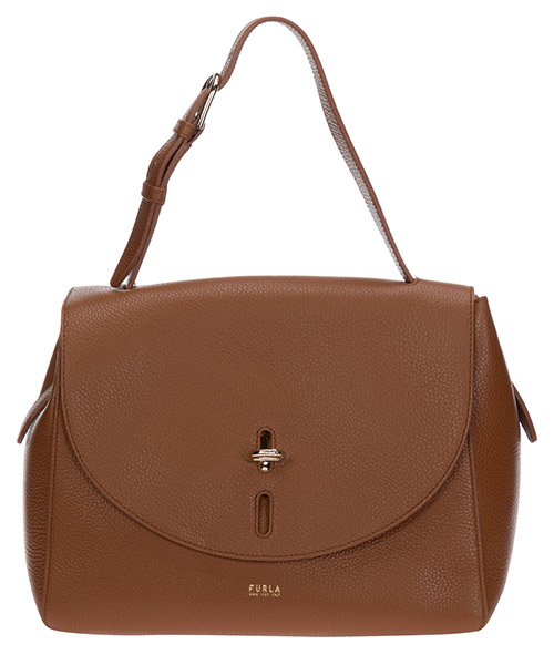 Handbags Furla net 1064039 BAFQ cognac