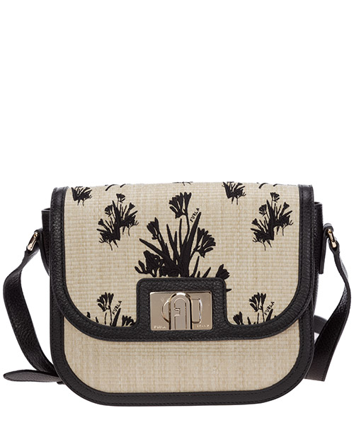 Shoulder bag Furla 1927 1065959 BAQI naturale+nero