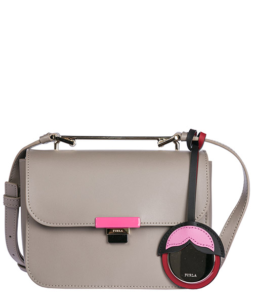 Shoulder bag Furla 920941 grigio