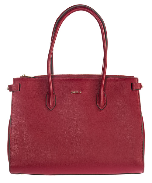 Shoulder bag Furla Pin 924545 bordeaux