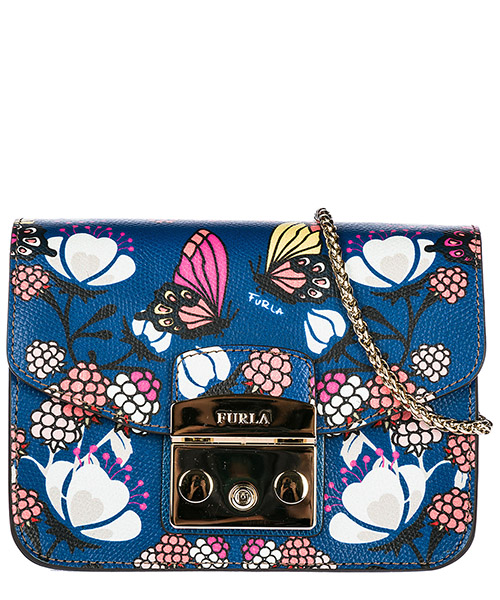 Crossbody bag Furla 941748 blu pavone
