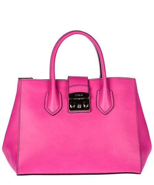 Handbag Furla Metropolis 941852 fucsia