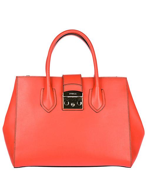 сумка с короткой ручкой женская кожаная metropolis