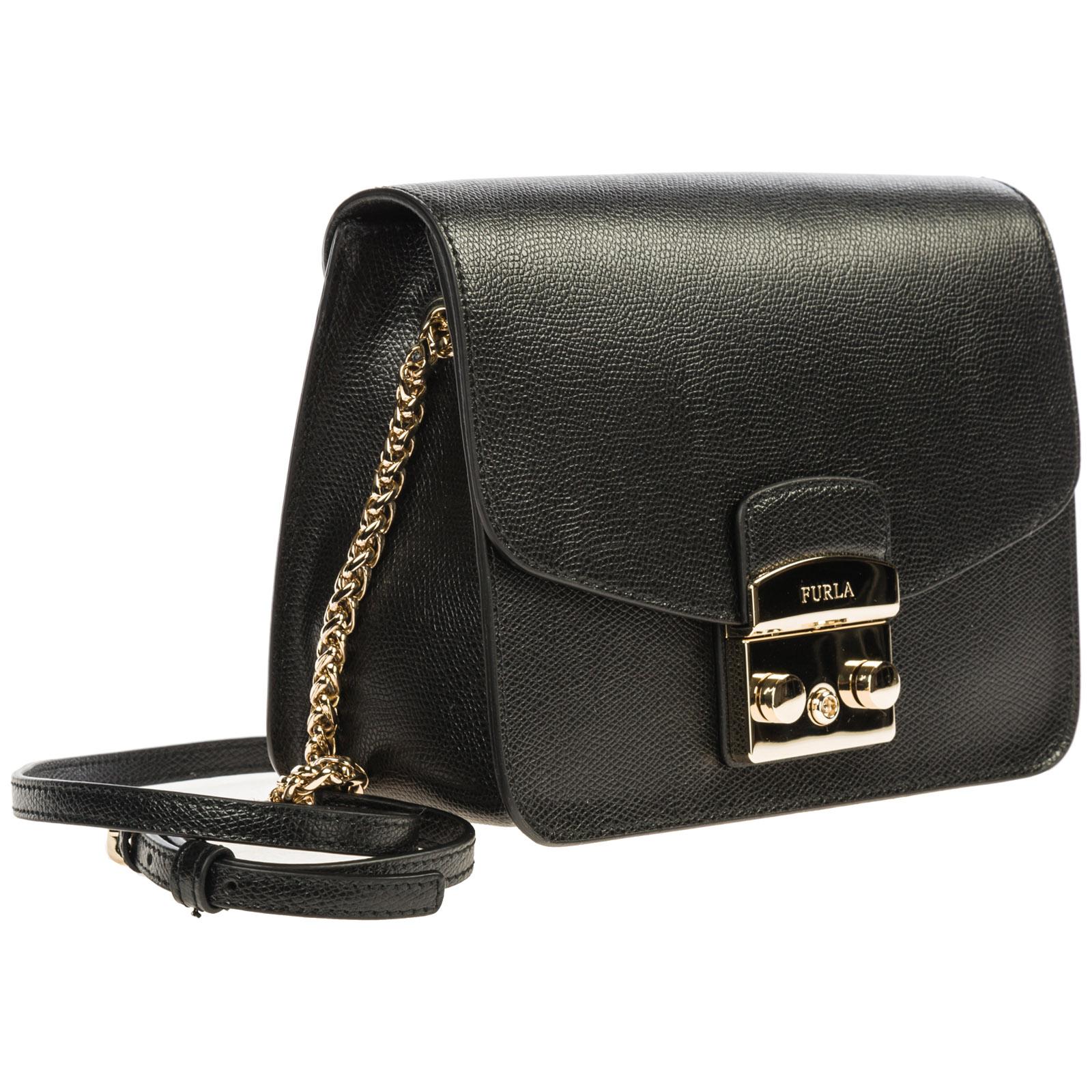 5ede13afde ... Women's leather cross-body messenger shoulder bag metropolis ...