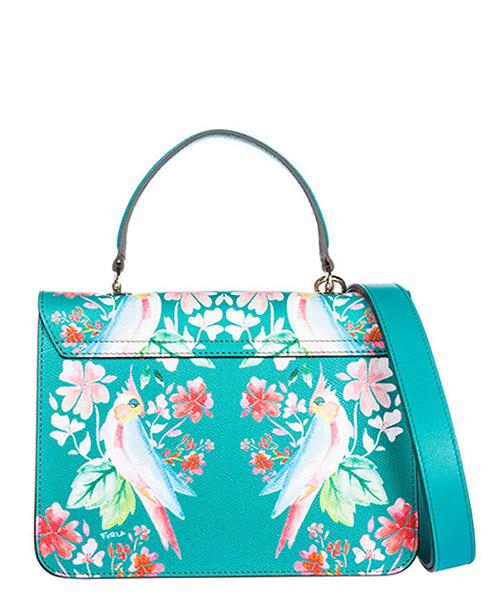 Women's leather handbag shopping bag purse metropolis secondary image