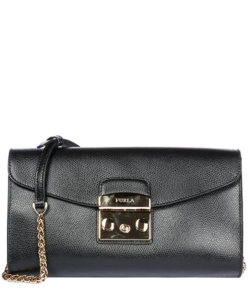 Clutch bag Furla Metropolis 962799 onyx